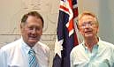 The Art of Politics 2007 Left: MP Peter Lindsay and Ture Sjolander