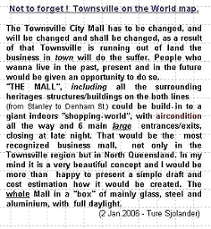 THE FLINDERS CITY MALL TOWNSVILLE AIRCONDITIONED