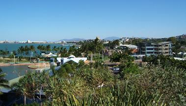 View to Townsville City